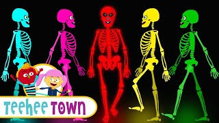 Midnight Magic - Five Crazy Dancing Skeletons Jumping On The Grave | BRAND NEW Skeleton Dance