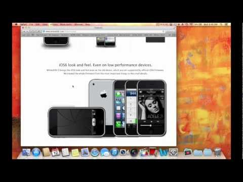 HOW TO INSTALL IOS 6 ON iPhone 2g 3g. iPod Touch 1g 2g (OLD DEVICES)