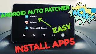 """Android Auto """"Patcher"""" Install Apps (12/2018) 📱▶🚗"""