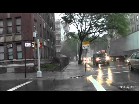 Kings (Brooklyn) New York, Moderate to Heavy rains 6-3-2013