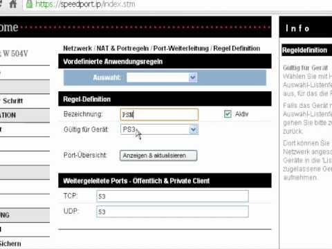 Nat-Typ ändern von Strikt oder Mittel zu Offen Ps3 (HD)