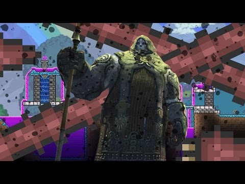 COLOSSAL EARTH GIANT!! | Terraria: Epic Modpack SE2 | Part 35