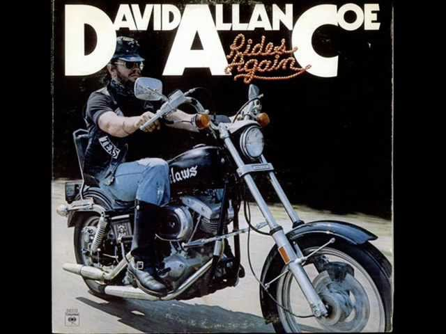 David Allan Coe - Rides Again (full album)