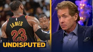 Skip Bayless on Kevin Durant and LeBron James rivalry   UNDISPUTED