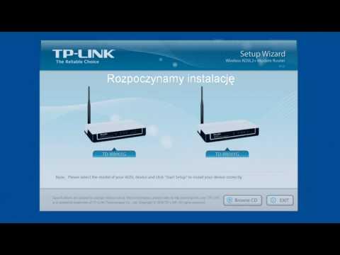Domowa sieć komputerowa w 5 minut - router TP-Link TD-W8901G