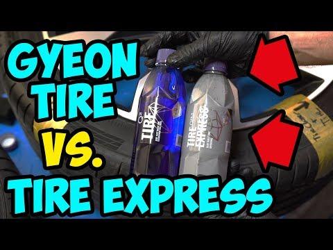 HQS Autopflege -Das neue Gyeon Tire Express & Gyeon Tire Cleaner im Test