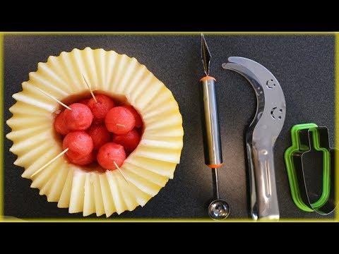 ТОП 3 ГАДЖЕТА ДЛЯ АРБУЗА И ДЫНИ! Оригинальные способы нарезать арбуз!