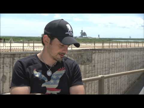 Brad Paisley Leaks Song at NASA's Kennedy Space Center