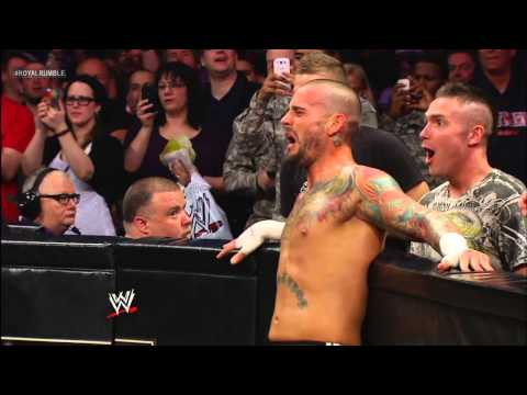 The Rock vs. CM Punk - WWE Championship Match: Royal Rumble...