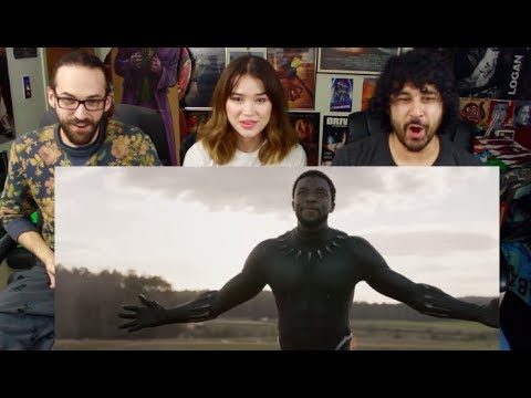 Marvel Studios' BLACK PANTHER - Rise TV SPOT - REACTION!!!