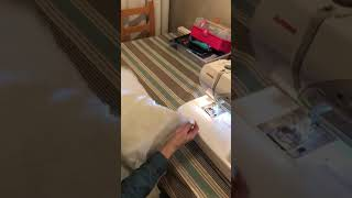 How to sew a dog bed from a quilt (Video 4) for Many Tears Animal Rescue