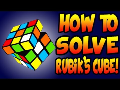 How to Solve a 3x3x3 Rubik's Cube! (Best and Easiest Method)