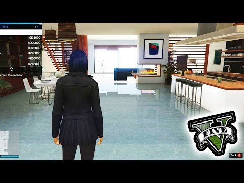 GTA 5 - New Penthouse All Interior Designs