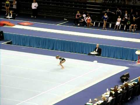 Shannon Archer - Espoir 2011 British Event Finals - Floor - 2nd