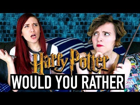 Harry Potter WOULD YOU RATHER ft. Brizzy Voices | FANTASTIC GEEKS