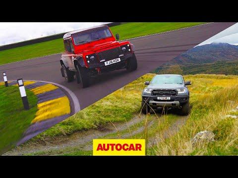 Ford Ranger Raptor v Bowler Bulldog | 4x4s tested off-road and on track | Autocar