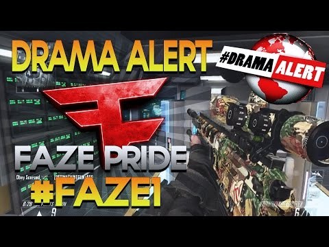 Drama Alert Recovered, Pride Joins FaZe, Helping out with #FAZE1? Advanced Warfare - Obey Scarce