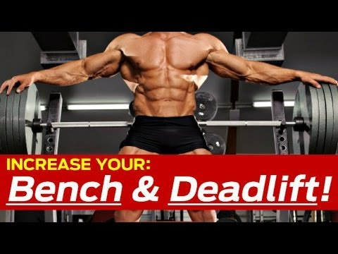 How To Increase Bench Press & Deadlift (KILLER Strength Training Workout) Image 1