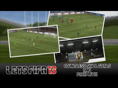 "Let's FIFA 13 ""Countless Skill Goals & Pack Luck"" Episode 100"