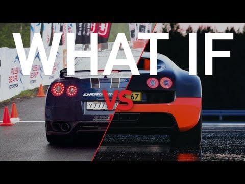 2014 Nissan GTR Vs Bugatti Veyron Super Sport Drag Race! on gt-r vs laferrari, gt-r vs mclaren p1, gt-r vs lamborghini gallardo, car world bugatti veyron, gt-r vs evo, gt-r vs police, gt-r vs corvette, nissan skyline racing bugatti veyron,