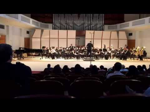Miami Coral Park Senior High School Wind Ensemble - First Suite in E-flat (all) Holst