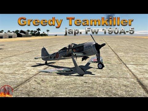WT || jap. Fw-190A-5 - Greedy Teamkiller thumbnail