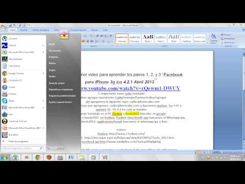 Whatsapp Para Iphone 3g Ios 4.2.1 Abril 2013 video