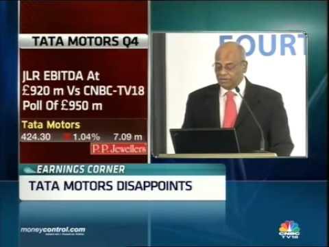 Tata Motors Q4 disappoints, net down 0.7%; JLR OPM at 17.2% -  Part 1