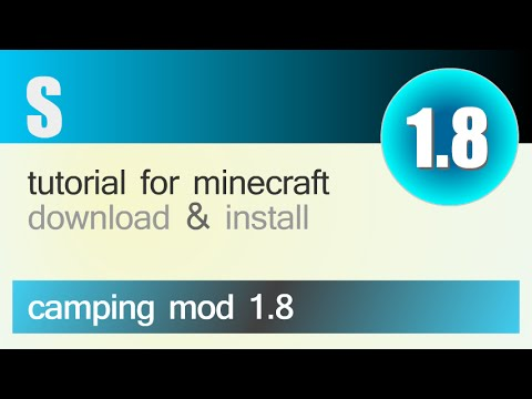 CAMPING MOD 1.8 minecraft - how to download and install (with forge)