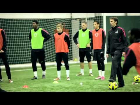 Training With Gareth Southgate: Nike Soccer