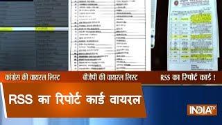 Madhya Pradesh: RSS report card goes viral
