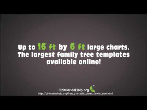 Family Tree Templates  - Download Over 20 Free Family Tree T