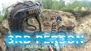 D-Day Landing Scenario Paintballarena Cheb - 3rd person Paintball