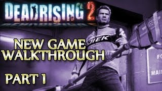 Ⓦ Dead Rising 2 Walkthrough ▪ New Game - Part 1 ▪ First Zombrex, Snowflake and Ted