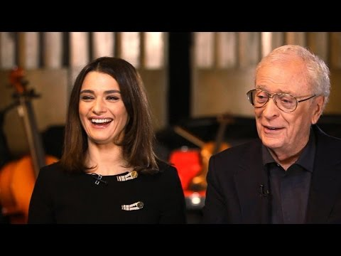 "Michael Caine and Rachel Weisz on ""Youth,"" life lessons"