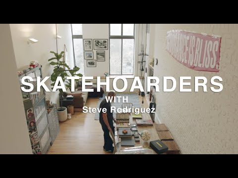 SkateHoarders: Steve Rodriguez | Historic Skateboard Collection and Artifacts and  in NYC
