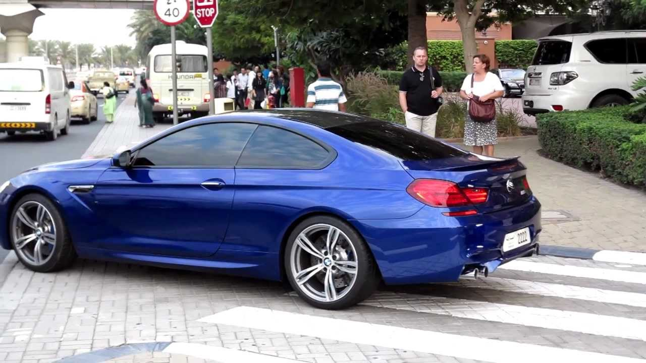 2013 Bmw M6 Purple Blue Details And Wheel Spin Police