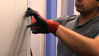 How to install a corner bead on drywall