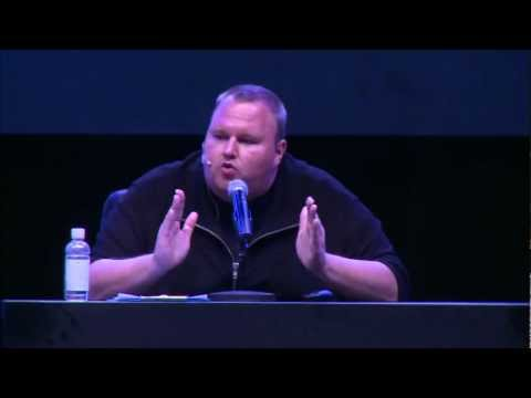 Kim Dotcom - Mega's EPIC Launch