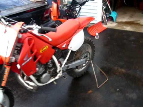 1989 honda cr250 for sale! $1500 obo ...start up. Bike is now sold Video