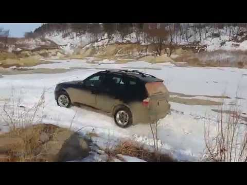 BMW X3 (E83) small offroad test