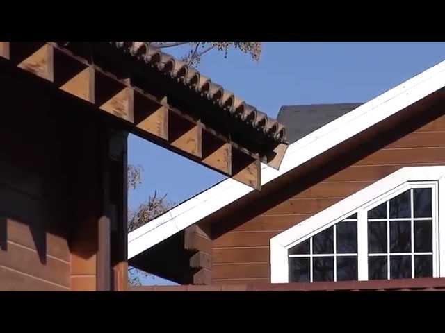 ¿Cómo es la cimentación de una casa de madera?