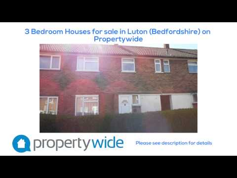 3 Bedroom Houses for sale in Luton (Bedfordshire) on Propertywide