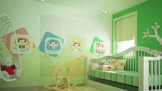 Bảng giá Sơn Dulux |  Mẫu Thiết Kế Phối Màu Nội Thất - Phòng Trẻ Em