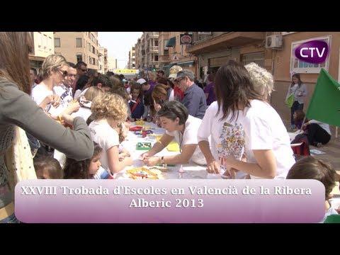 28a TROBADA ESCOLES EN VALENCIÀ DE LA RIBERA A ALBERIC
