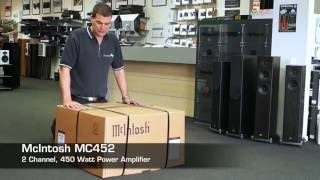 McIntosh MC452 Power Amplifier unboxing | TLPCHC TLPWLG