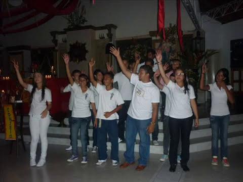 Consagración Grupo Juvenil Angeles Guardianes. (Agosto de 2010)