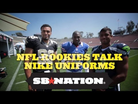 Russell Wilson Interviews Bills' T.J. Graham and Saints' Nick Toon