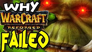 Why Warcraft 3 Reforged Failed