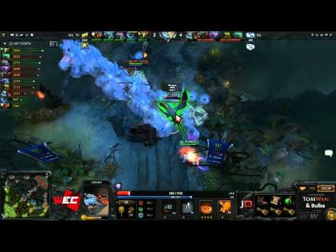 Evil Geniuses vs Natus Vincere Game 1 - World ports Championship @TobiWanDOTA @BulbaDota
